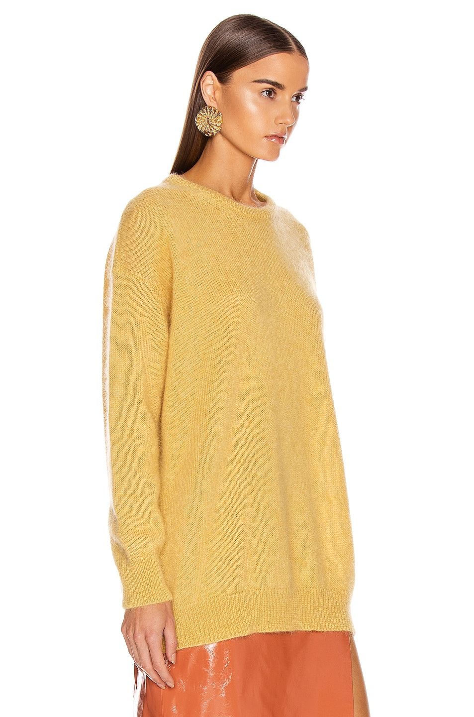 Image 2 of Max Mara Relax Sweater in Yellow