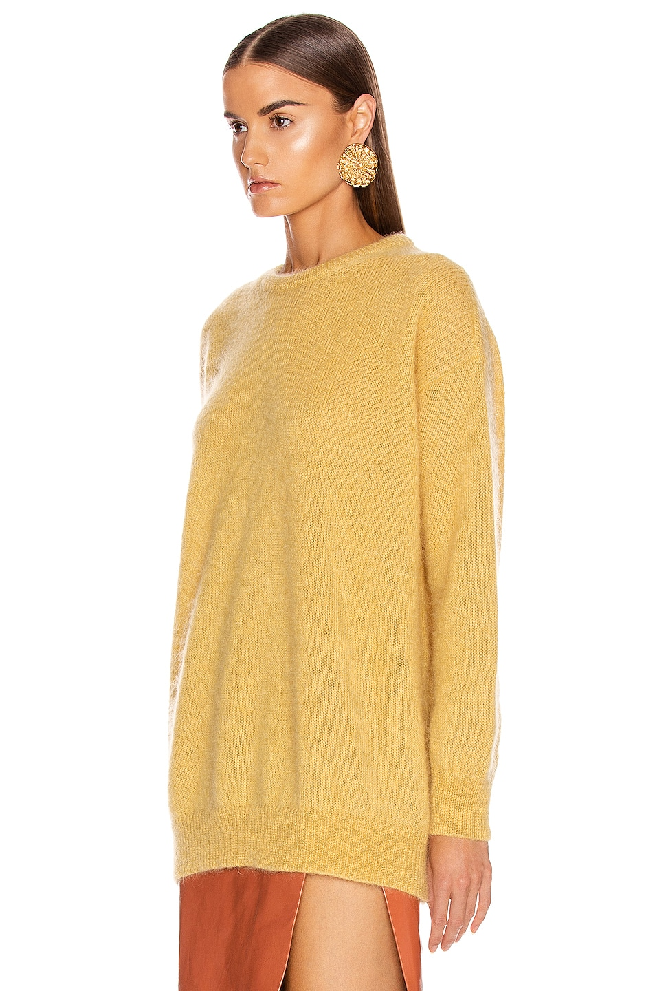 Image 3 of Max Mara Relax Sweater in Yellow