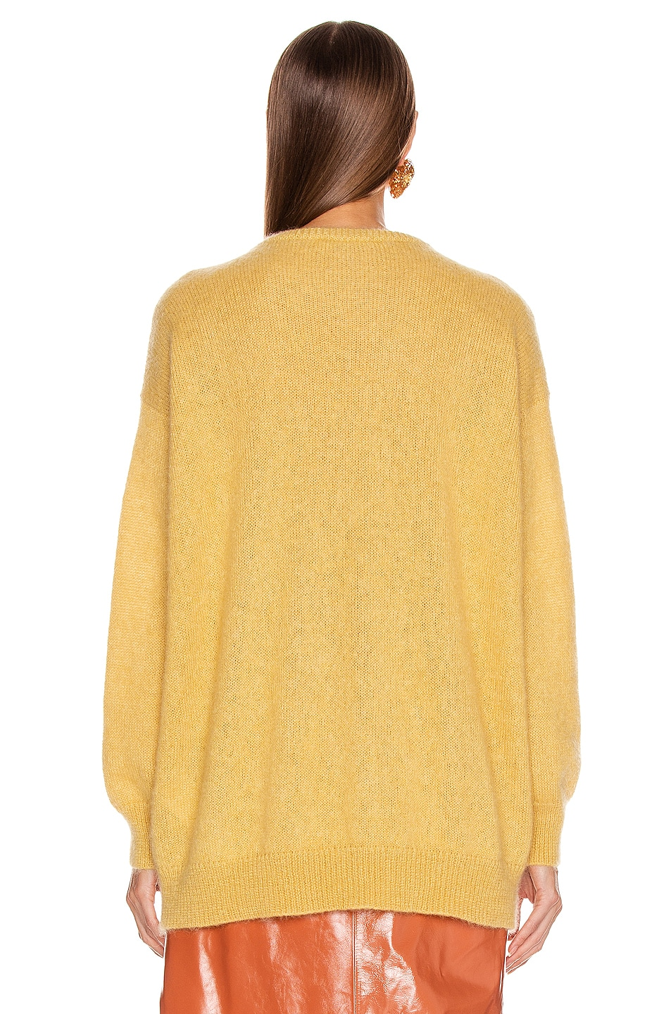Image 4 of Max Mara Relax Sweater in Yellow