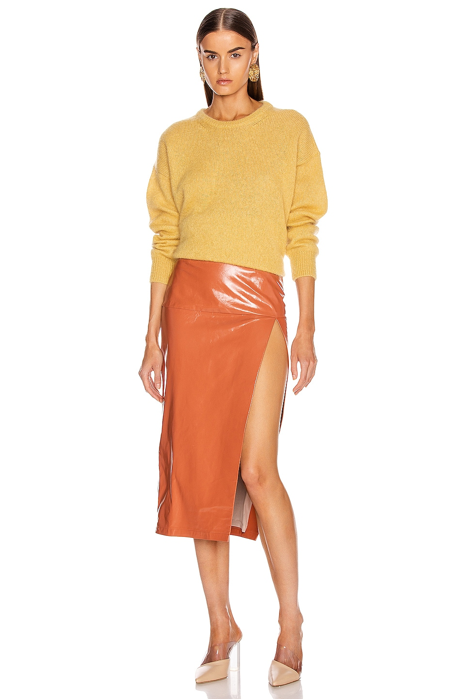 Image 5 of Max Mara Relax Sweater in Yellow
