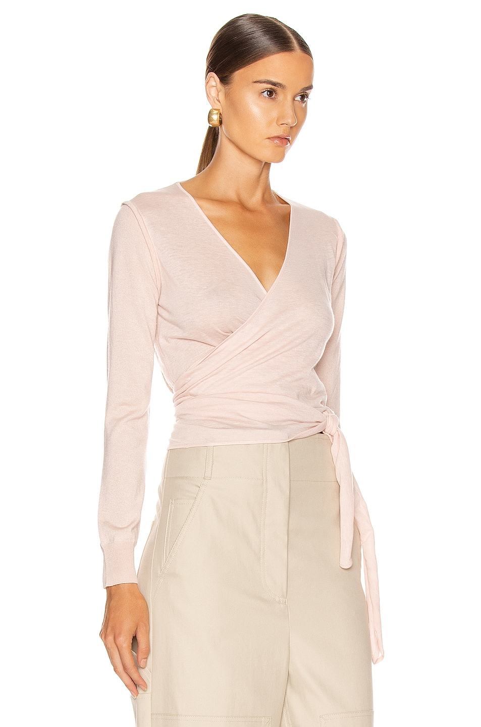 Image 2 of Max Mara Cirino Cardigan Sweater in Pink