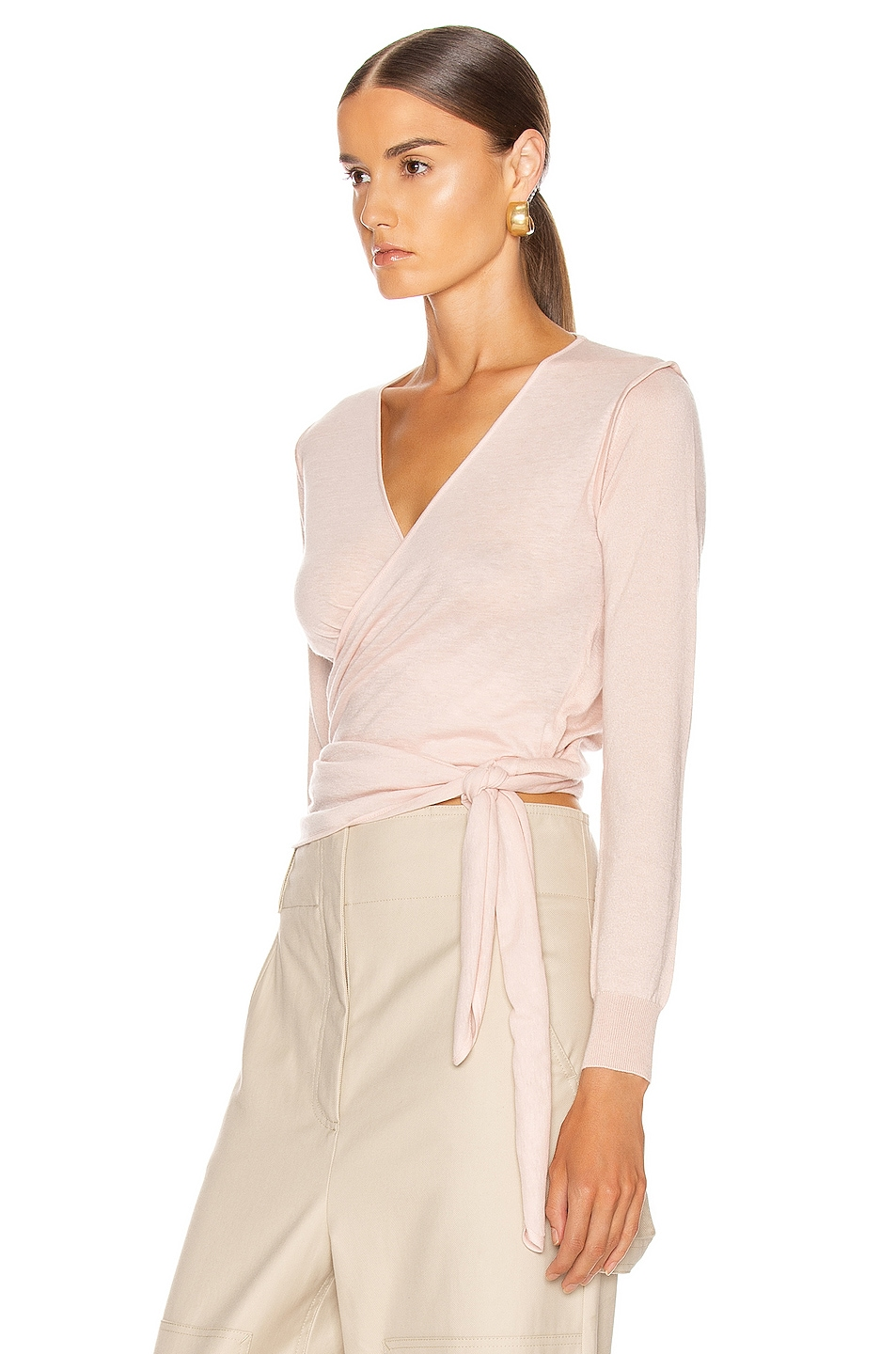 Image 3 of Max Mara Cirino Cardigan Sweater in Pink