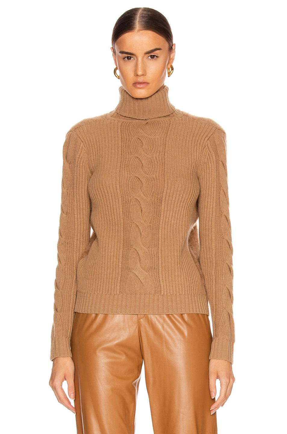 Image 2 of Max Mara Formia Sweater in Camel