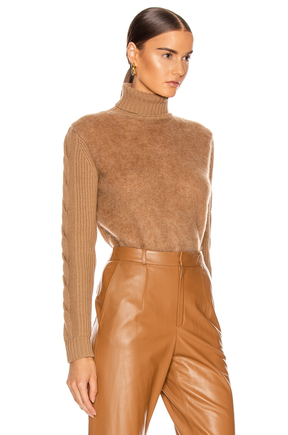 Image 3 of Max Mara Formia Sweater in Camel