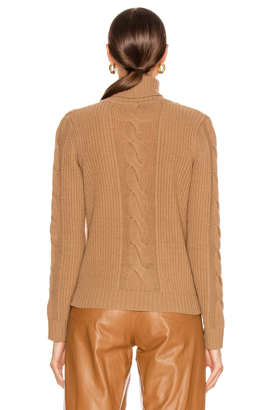 Image 4 of Max Mara Formia Sweater in Camel