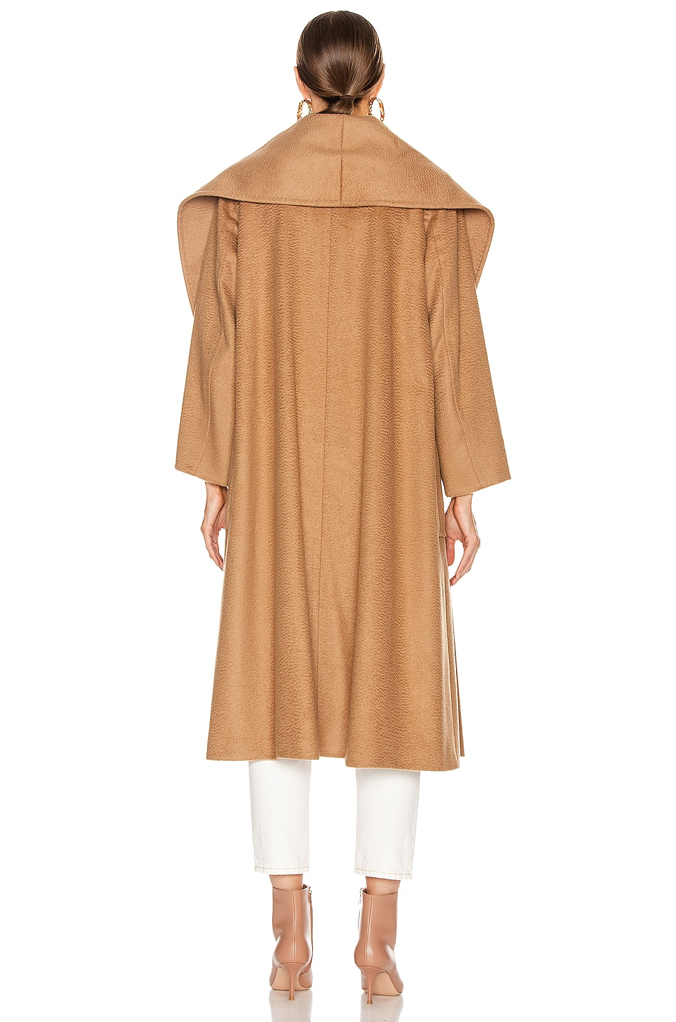 Image 4 of Max Mara Gufo Coat in Camel