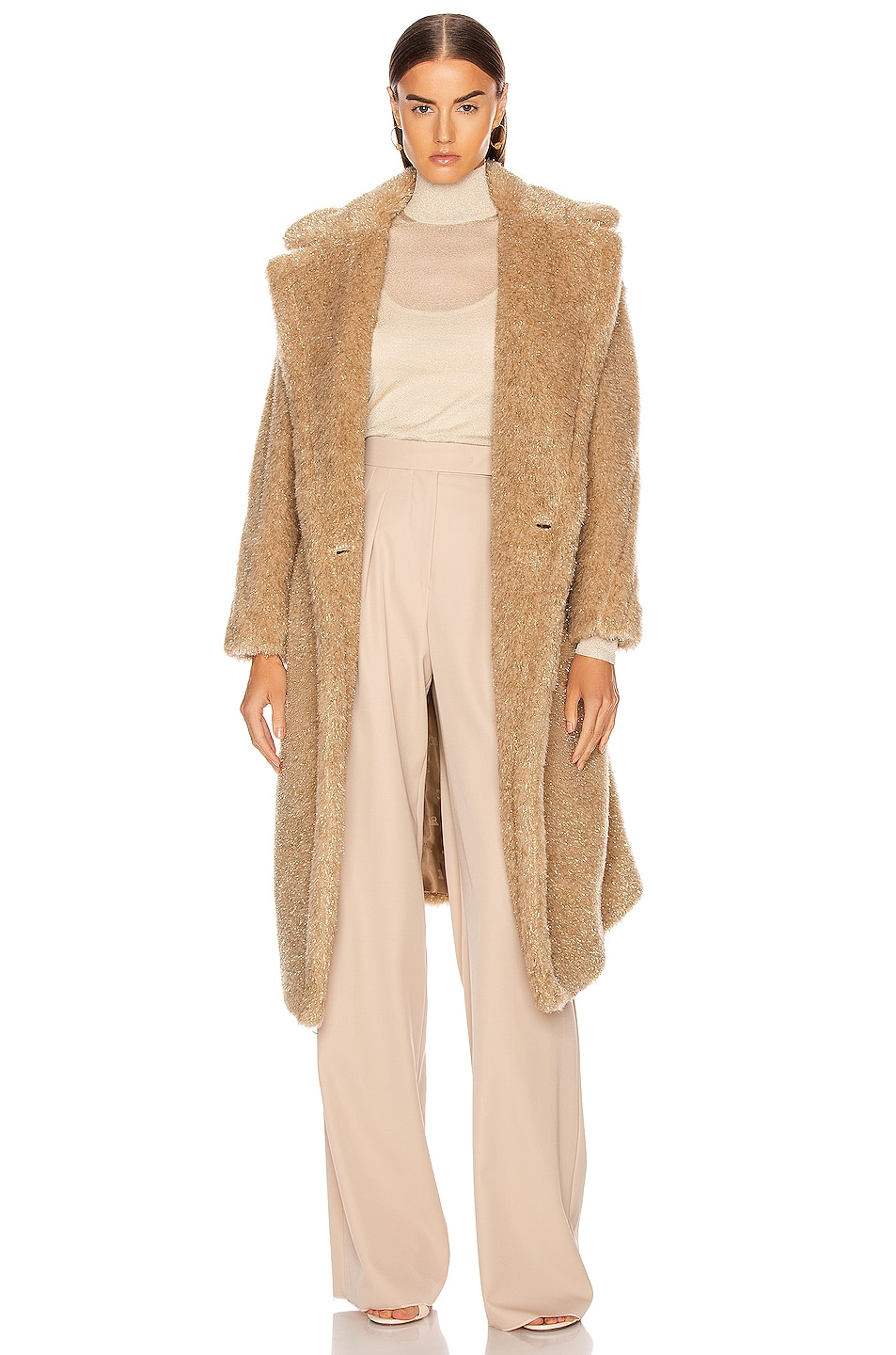 Image 1 of Max Mara Park Coat in Albino