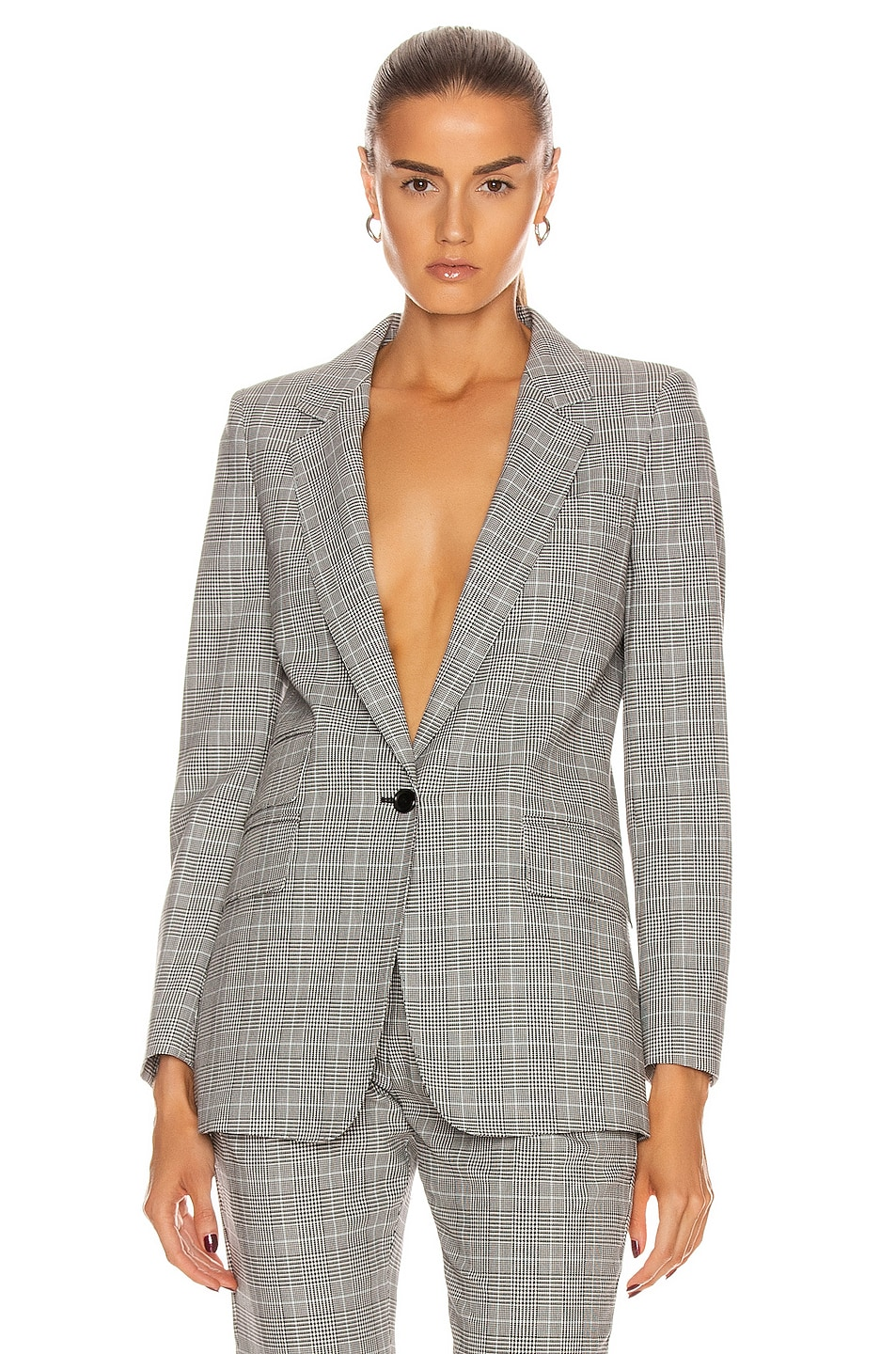 Image 1 of Max Mara Piuma Blazer Jacket in Black
