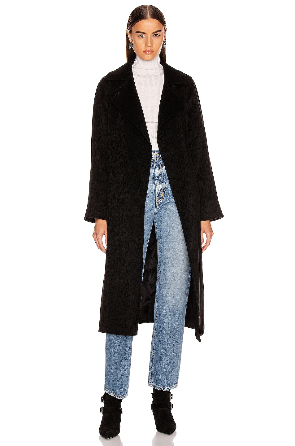 Image 1 of Max Mara Manuel Coat in Black