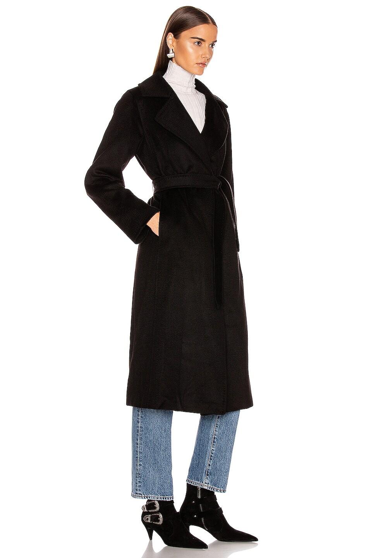 Image 3 of Max Mara Manuel Coat in Black