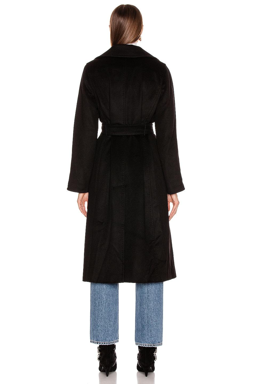 Image 4 of Max Mara Manuel Coat in Black