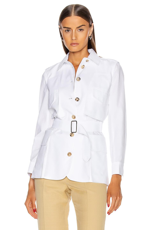 Image 1 of Max Mara Orfeo Jacket in Optical White