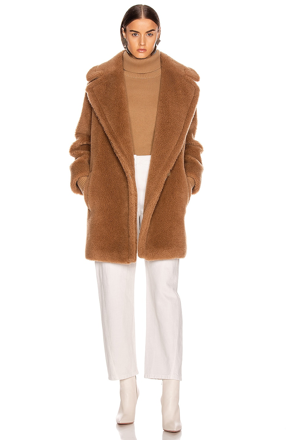 Image 1 of Max Mara Ofelia Coat in Camel