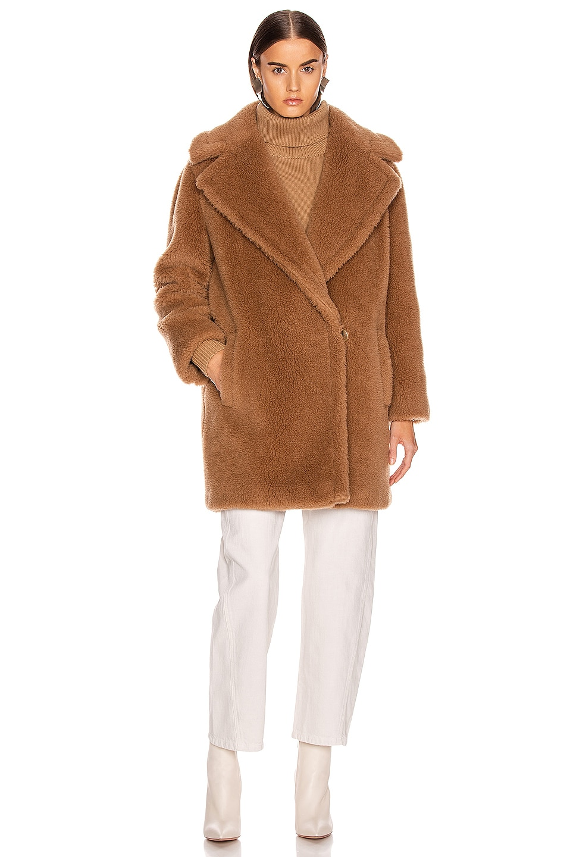 Image 2 of Max Mara Ofelia Coat in Camel