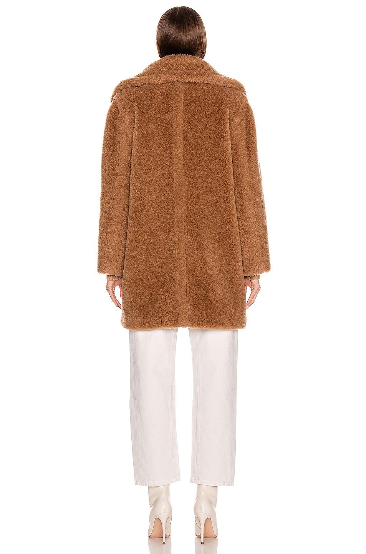 Image 4 of Max Mara Ofelia Coat in Camel