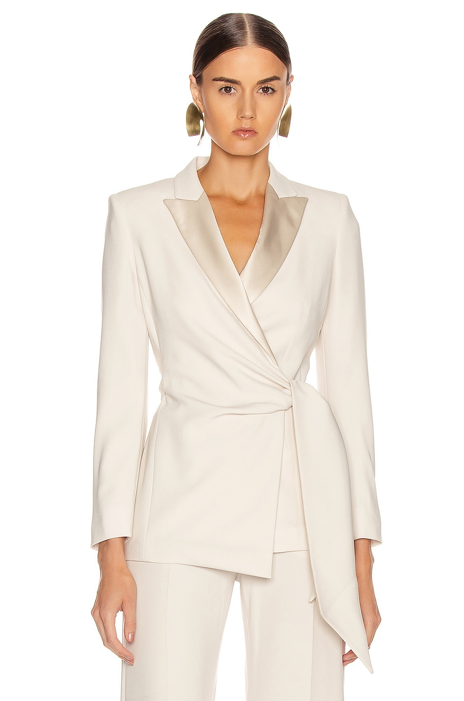 Image 1 of Max Mara Lambro Jacket in Ivory
