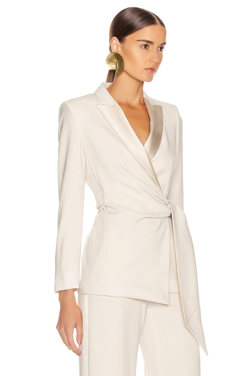 Image 2 of Max Mara Lambro Jacket in Ivory