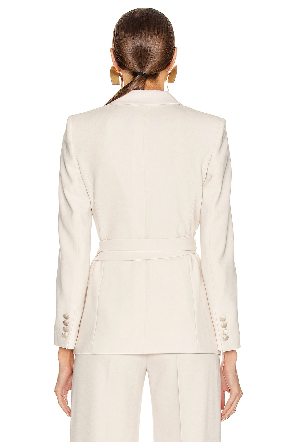 Image 3 of Max Mara Lambro Jacket in Ivory