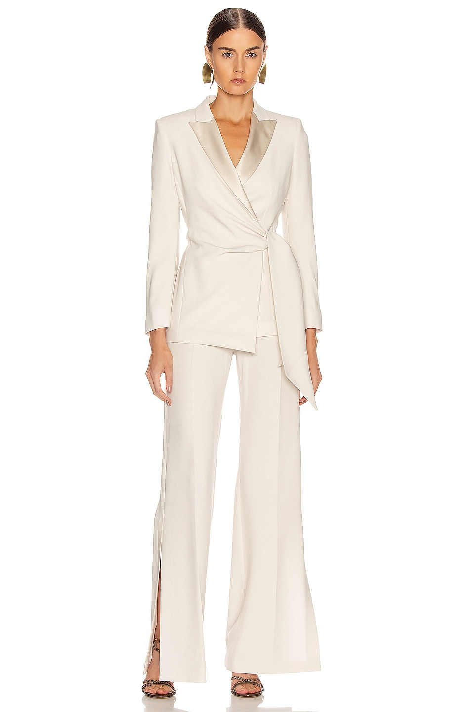 Image 4 of Max Mara Lambro Jacket in Ivory