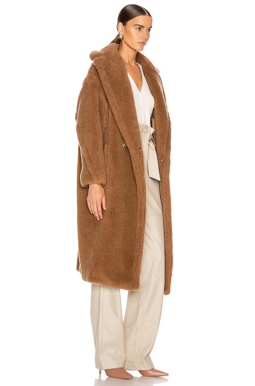 Image 3 of Max Mara Teddy Coat in Camel