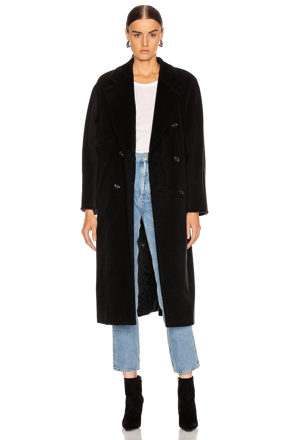Image 1 of Max Mara Madame Coat in Black