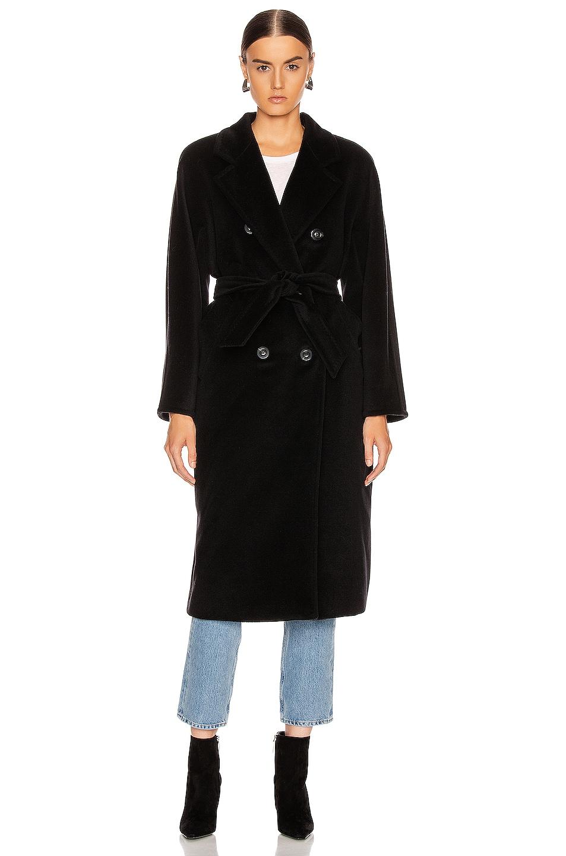 Image 2 of Max Mara Madame Coat in Black