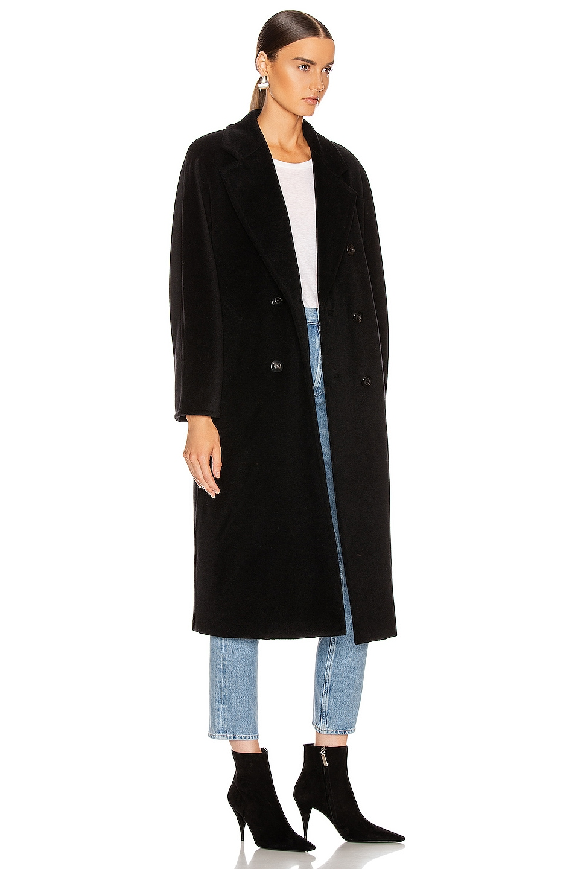 Image 3 of Max Mara Madame Coat in Black