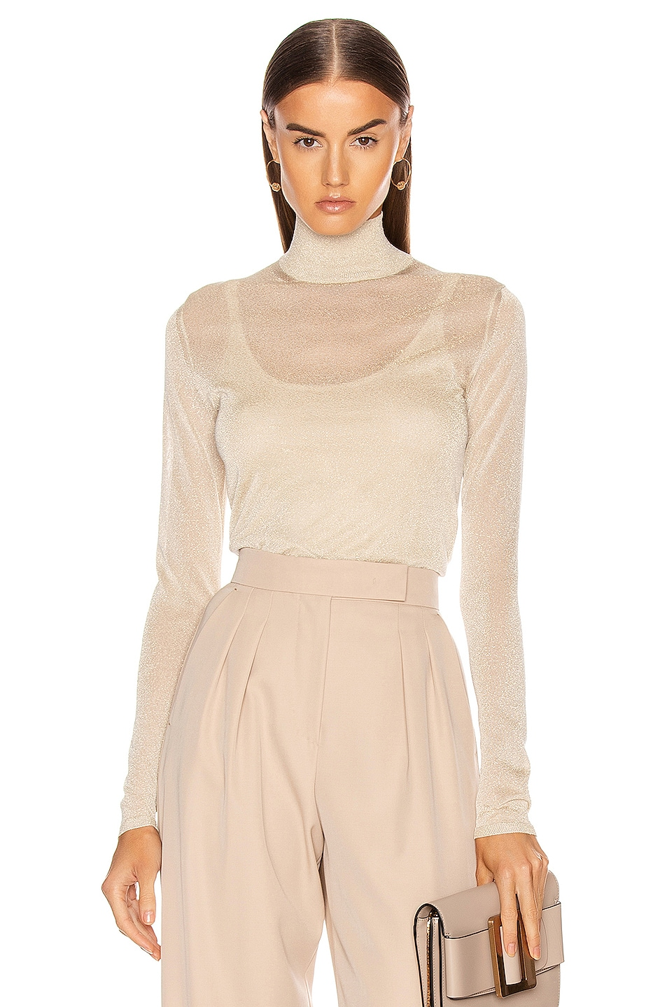 Image 1 of Max Mara Pietra Knit Top in Albino