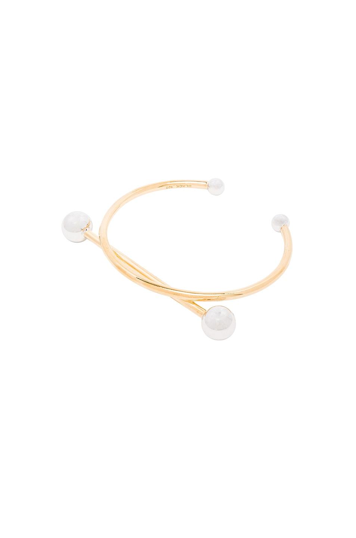 Image 1 of Maria Black 14 Karat Solar Bracelet in Gold & Silver