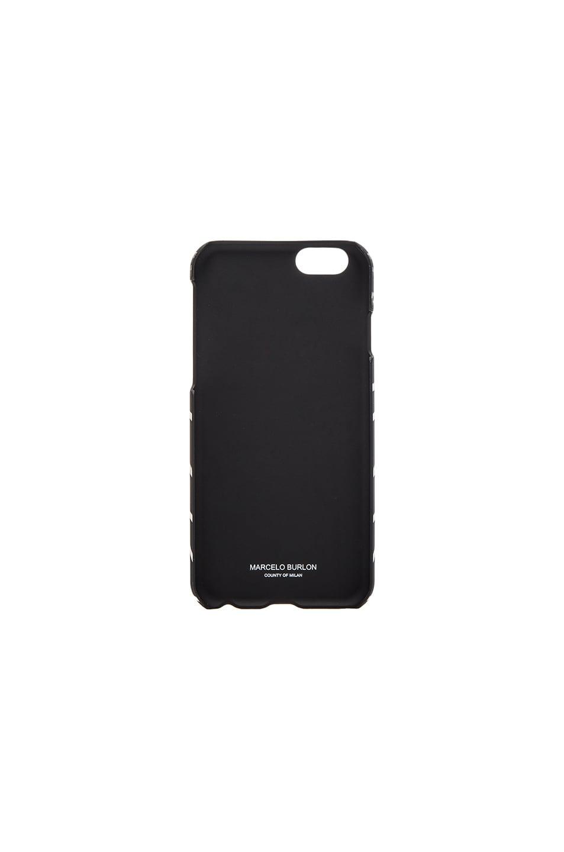 Image 2 of Marcelo Burlon Villarrica iPhone case in Black Multi