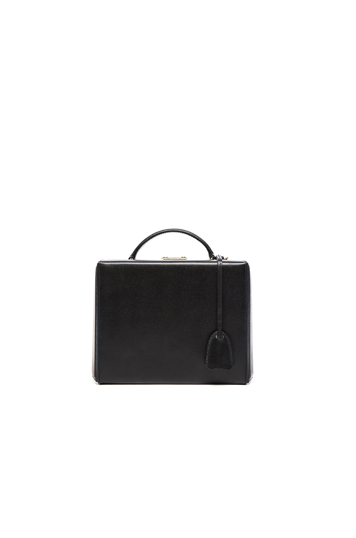Image 2 of Mark Cross Grace Large Box Bag in Black