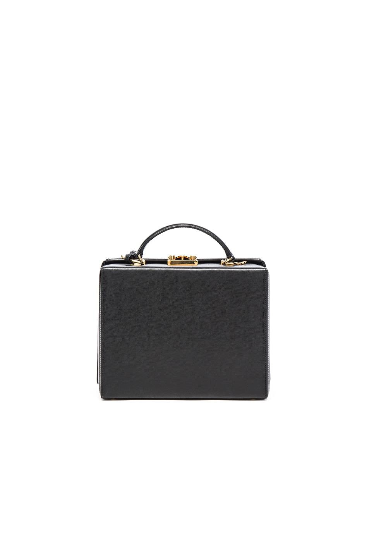 Image 3 of Mark Cross Grace Large Box Bag in Black