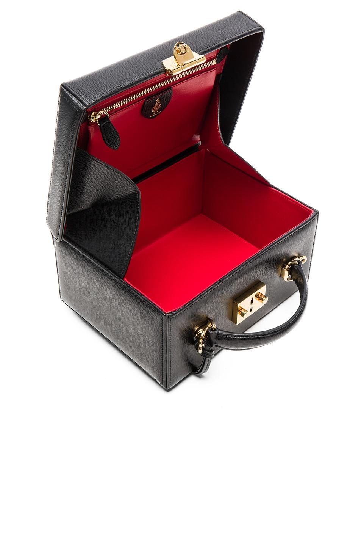 Image 5 of Mark Cross Grace Large Box Bag in Black