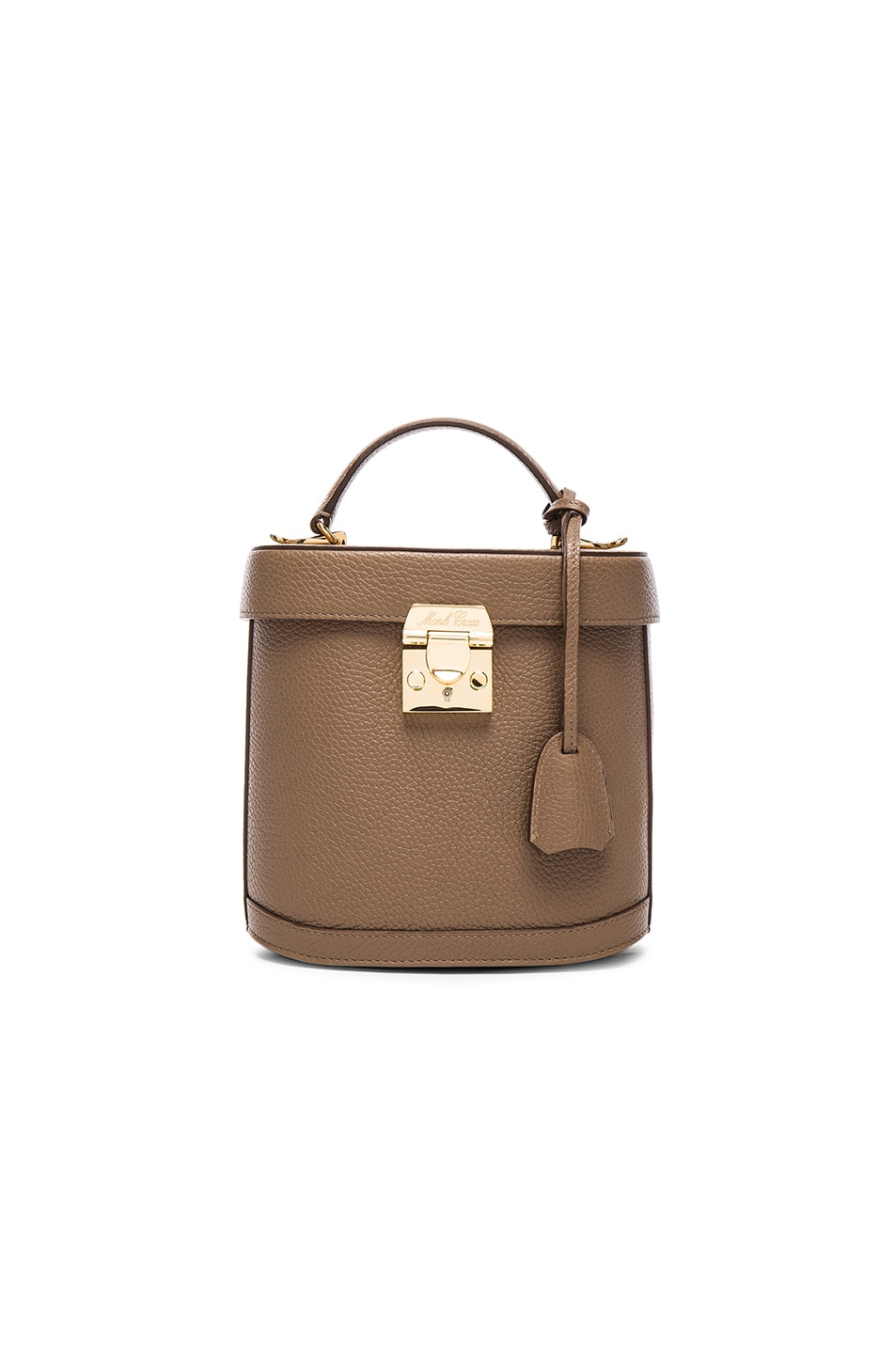 Image 1 of Mark Cross Benchley Bag in Mink Pebble