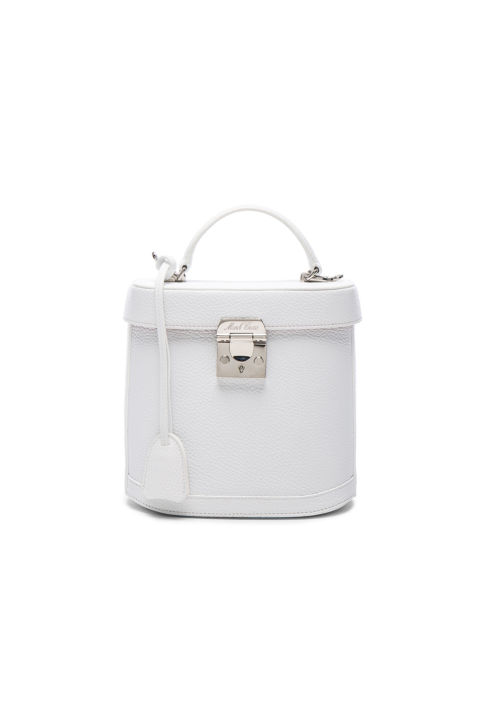 Image 1 of Mark Cross Benchly Bag in White Pebble