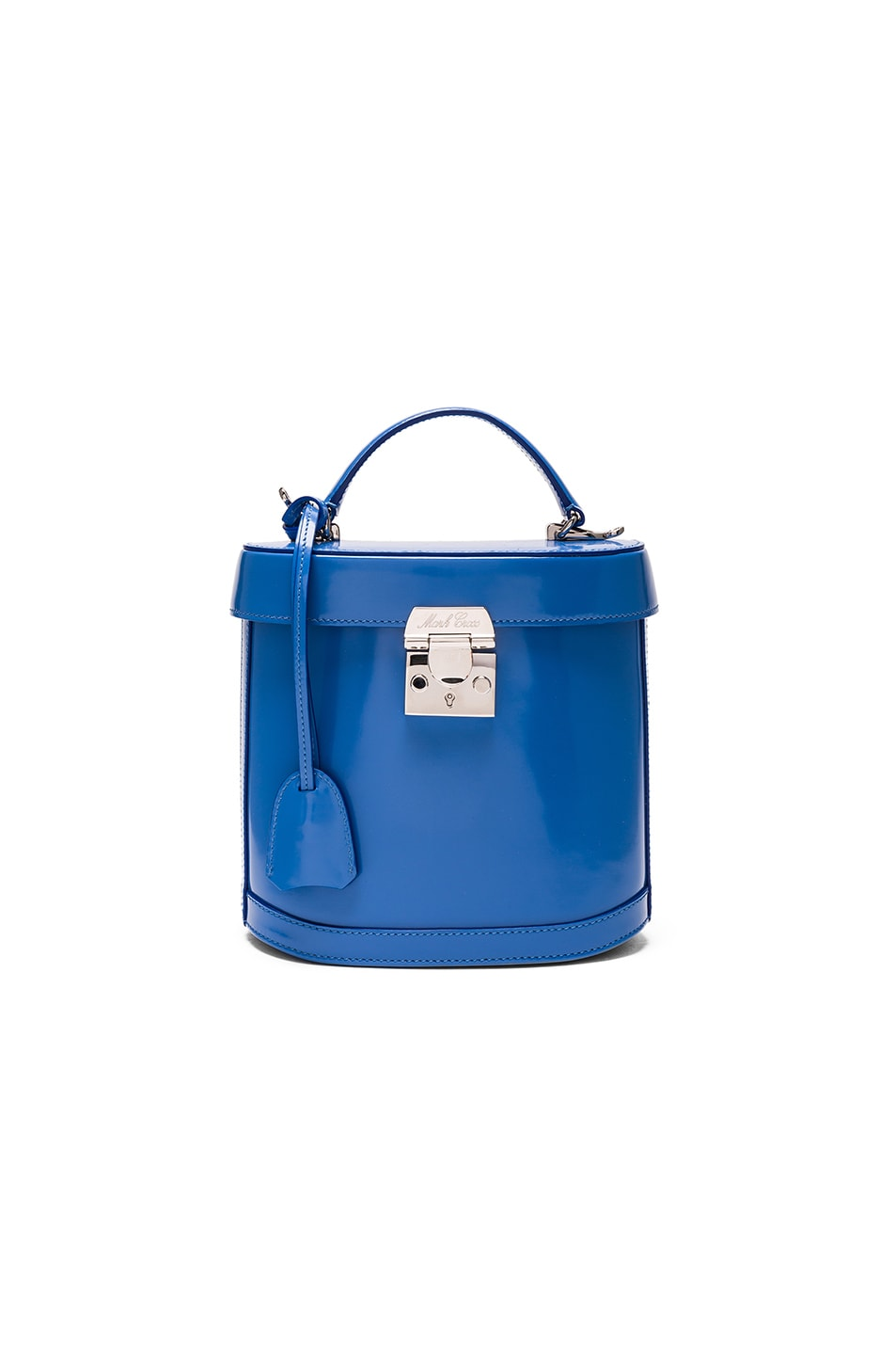 Image 1 of Mark Cross Benchley Bag in Brush Off Cornflower Blue