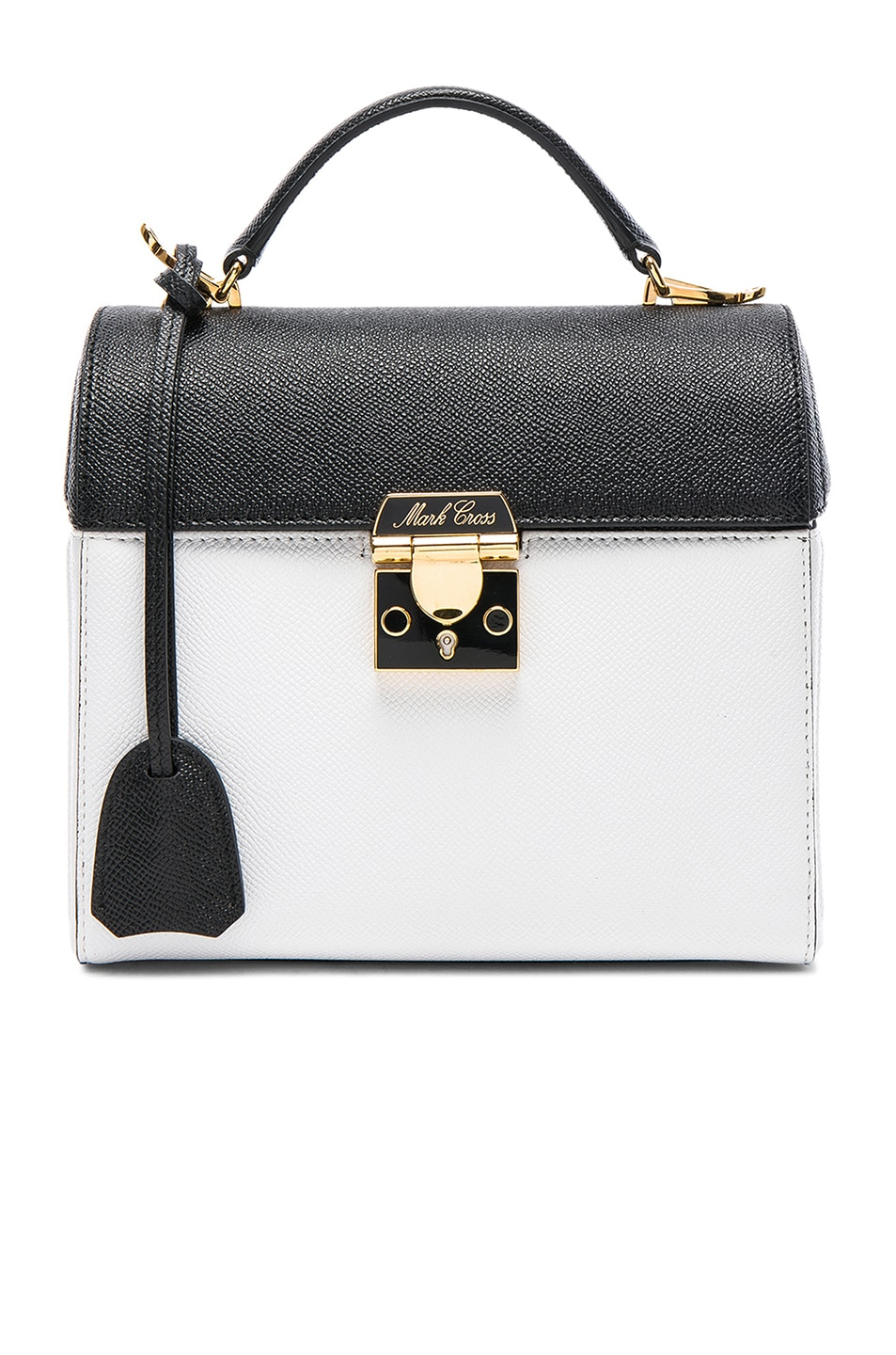 Benchly Colorblock Leather Crossbody Bag
