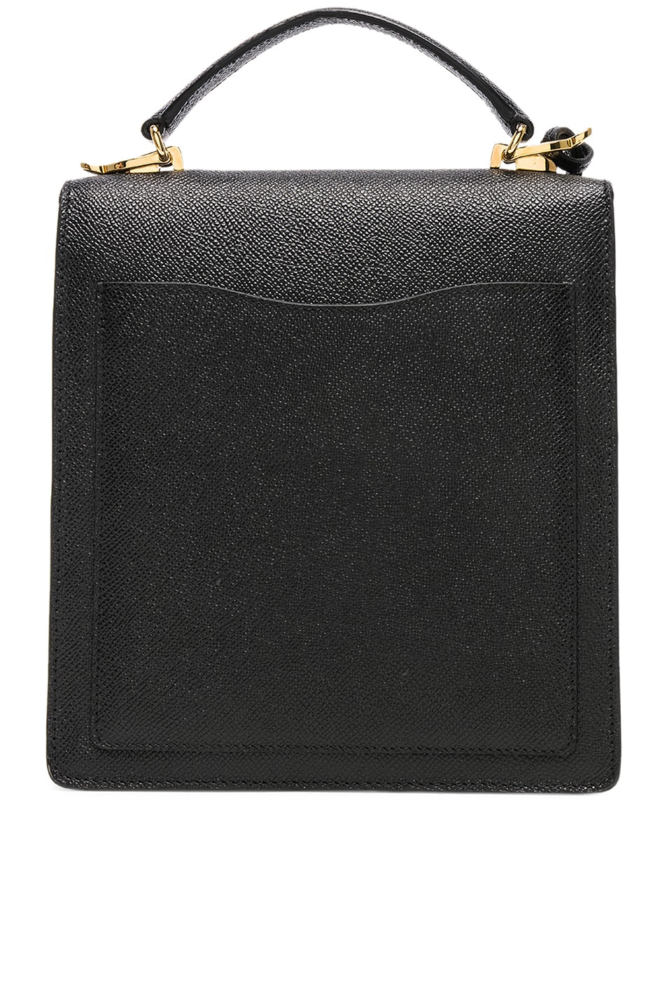 Image 3 of Mark Cross Saffiano Uptown Bag in Black
