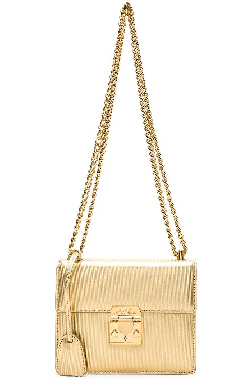 Image 3 of Mark Cross Club Zelda Bag in Gold