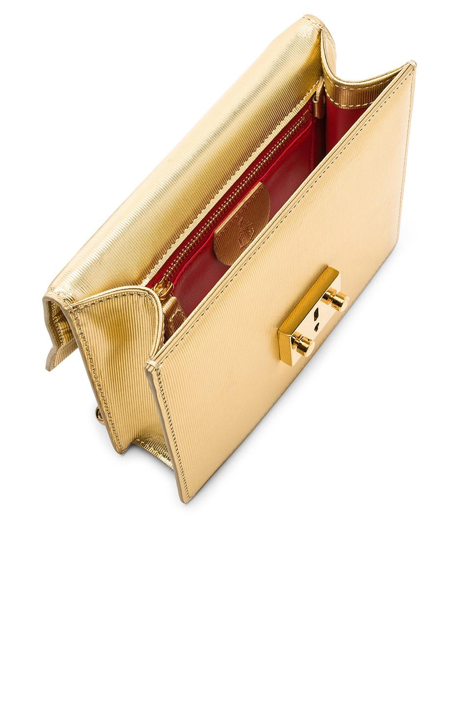 Image 6 of Mark Cross Club Zelda Bag in Gold