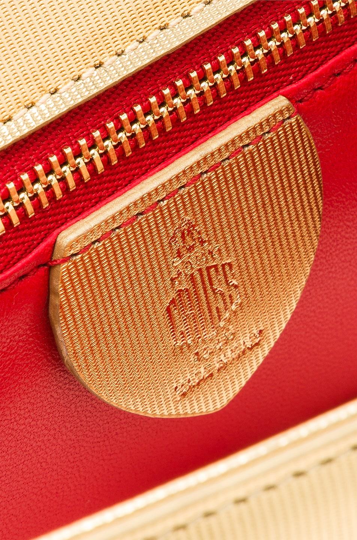 Image 7 of Mark Cross Club Zelda Bag in Gold