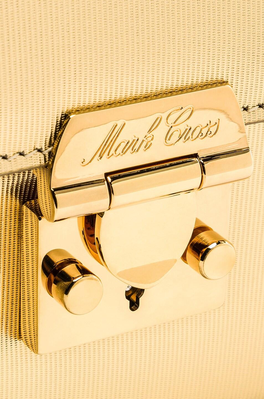 Image 8 of Mark Cross Club Zelda Bag in Gold
