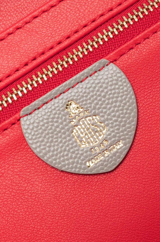 Image 7 of Mark Cross Small Caviar Grace Box Bag in Stone