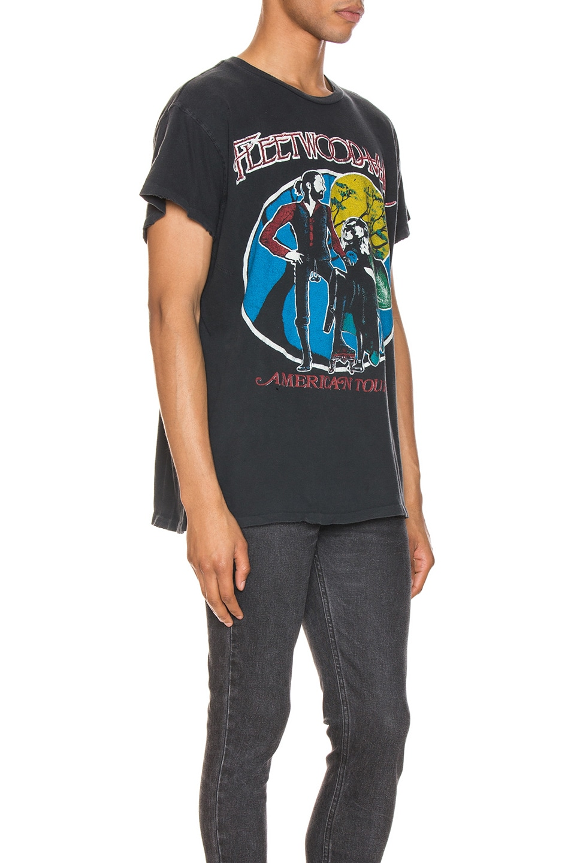 Image 2 of Madeworn Fleetwood Mac American Tour Crew Tee in Black Pigment