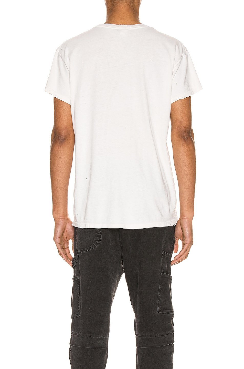 Image 4 of Madeworn The Stones Crew Tee in Off White
