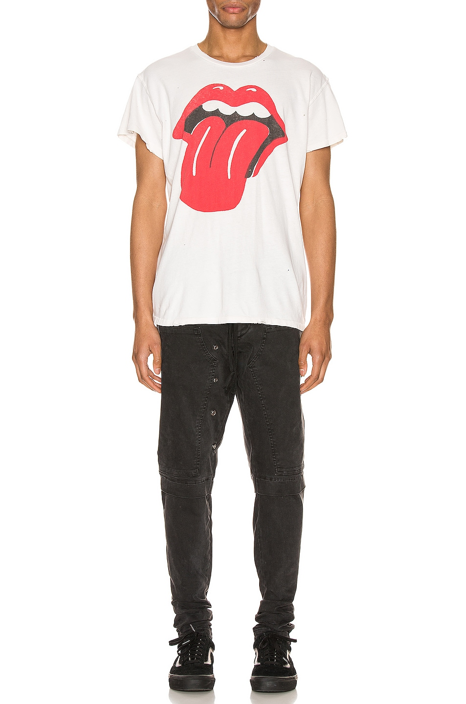 Image 5 of Madeworn The Stones Crew Tee in Off White