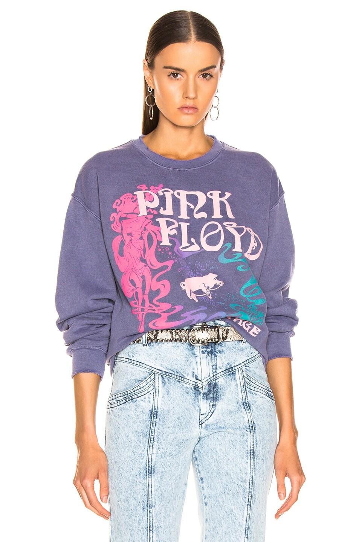Image 1 of Madeworn Pink Floyd Tampa '77 Sweatshirt in Navy