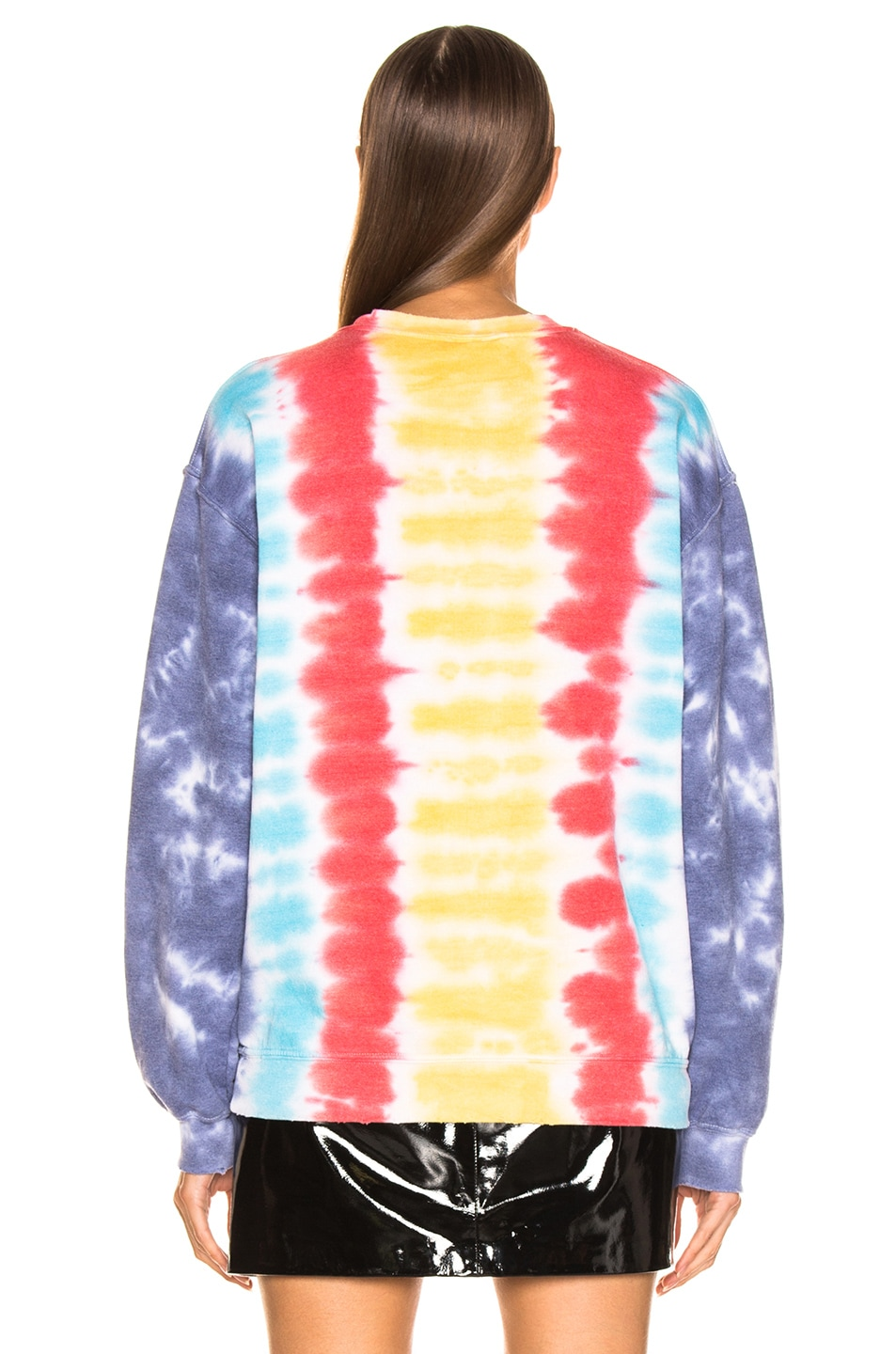 Image 4 of Madeworn Stoned Sweatshirt in Tie Dye