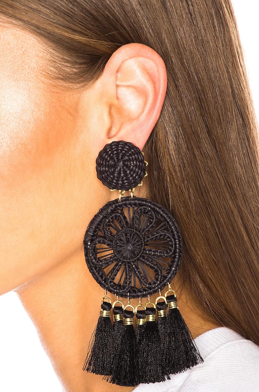 Image 2 of Mercedes Salazar Gardenia Ceniza Earrings in Ash