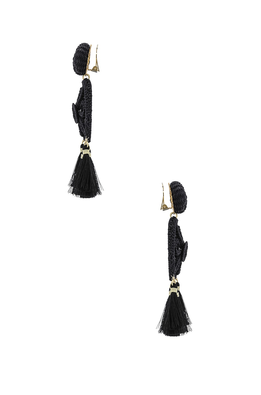 Image 3 of Mercedes Salazar Gardenia Ceniza Earrings in Ash